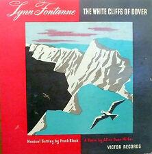 78 rpm album 3 records M+ /album: M+...WWII STORY / Lynn Fontanne / WHITE CLIFFS