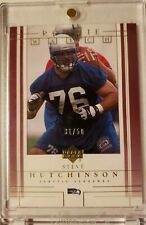 2001 Upper Deck Rookie Watch GOLD Steve Hutchinson HOF #'d 31/50 RARE ROOKIE