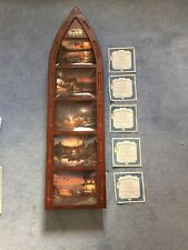 Bradford Exchange Terry Redland's 'Woodland Canoe 5-plate collection with Ca's