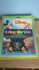 Vintage Hasbro Lite-Brite Paper Sheets Refills Disney