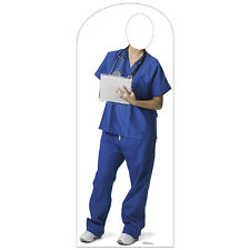 MEDICAL ORDERLY Lifesize STAND-IN CARDBOARD CUTOUT Standin Standup Standee Doc