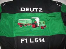 NEU DEUTZ F1 L514 Traktor Fan- Jacke grün/schwarz jacket veste jas giacca jakka