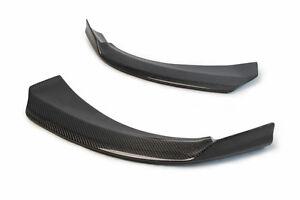 Flaps Splitter Stoßstange Lippe Front Spoiler passend für Mercedes Carbon CLA