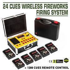 24 Cues Fireworks Firing System Wireless Control 2018 NEW AC Smart Equipment