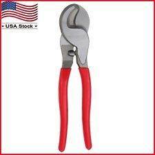 """High Leverage Cable Wire Cutter Curved Jaw Electrical Cutting Tool Pliers 9 1/2"""""""