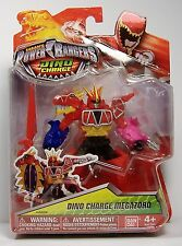"DINO CHARGE MEGAZORD MMPR POWER RANGERS 5"" ACTION FIGURE MOSC BANDAI 2015 HTF"