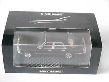 Bentley Arnage R in schwarz noir black, Minichamps #436 139000 in 1:43 boxed!