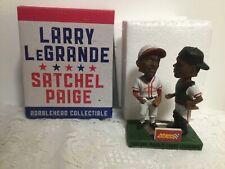 LARRY LEGRANDE SATCHEL PAIGE DUAL BOBBLEHEAD SALEM RED SOX VIRGINIA SGA ( rare)