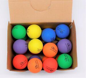 48/ 24/12/6pcs High Bounce Square Hand Ball Handballs Anti Stress Reliever Toy