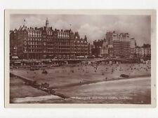 Metropole & Grand Hotels Brighton Vintage RP Postcard 268a