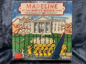 Madeline At The White House Game (2011) Briarpatch Ages 4+ Brand NEW Sealed