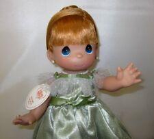"Precious Moments 12"" Doll ""Prettiest one of All"" Redhead Girl Green Dress New"