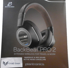 Plantronics BackBeat PRO 2 BLUETOOTH HEADSET (noir tan) NOUVEAU + OVP