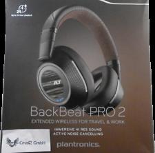 Plantronics BackBeat Pro 2 Bluetooth Headset (Black Tan)     !!!!! NEU+OVP !!!!!