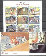 Walt Disney, Oliver & Company - St.Vincent Grenadinen -  ** MNH 1992
