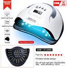 220W Professional LED UV Nail Dryer Gel Polish Lamp Salon Manicure SUN X5 X7 MAX