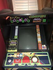 arcade machine full size. Centipede, Millipede, Missile Command & Bowling