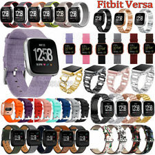 New Silicone/Stainless/Leather Band Strap Bracelet Replacement For Fitbit Versa