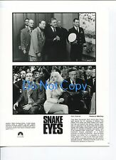 Gary Sinise Nicholas Cage Carla Gugino John Heard Snake Eyes Press Movie Photo
