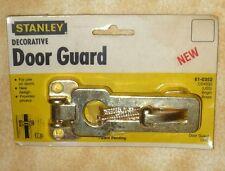 NEW Stanley decorative door guard Bright Brass