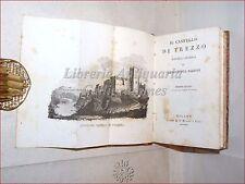 Novella: Giambattista Bazzoni, IL CASTELLO DI TREZZO 1830 Milano Stella Tavola