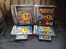 MS. PAC-man Maze Madness mundo 2 Nintendo GameBoy Advance GBA DS Namco Pac Man
