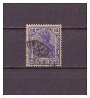 Deutsches Reich, MiNr. 87 II d used geprüft   signiert