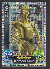 Topps Star Wars - Force Attax The Force Awakens # 200 C-3PO - Holographic