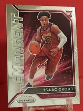 New listing Isaac Okoro RC 2020-21 Panini Prizm Rookie EMERGENT!! CLEVELAND CAVALIERS #15