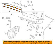Chevrolet GM OEM 10-15 Camaro Wiper Arm-Front Blade 23365874