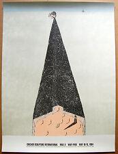 Chicago Sculpture International • Mile 3 • Navy Pier Poster by Martin Puryear