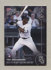 #142 TIM ANDERSON, White Sox ●RC● 2016 Topps NOW: 701 printed, FREE SHIPPING