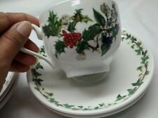 Nice Portmeirion the holly and the ivy 1 cup and 4 saucers