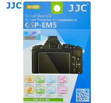 JJC GSP-EM5 Optical GLASS LCD Screen Protector Film for Olympus OM-D E-M5 Camera
