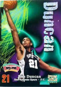 1996-97 Skybox TIM DUNCAN Rookie Rave 067 of 399 Card #114 see description