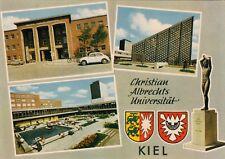 Kiel , Christian-Albrechts Universität  , Ansichtskarte, ungelaufen