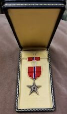Excellent WW2 Script Engraved KIA Bronze Star Medal PFC Brynes