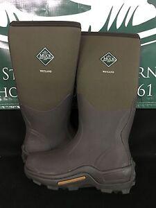 Muck Boot Co. Wetland Field Boot Bark Men Women Sizes WET-998 BRAND NEW