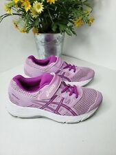 Asics Girls Gel-Contend 5 Running Playing Walking Pink-Purple Sneakers Size 2.5