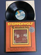 STEPPENWOLF Greatest Hits LP Vinyl VG+/VG+