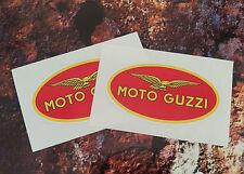 MOTO GUZZI Le Mans classic Eagle helmet stickers 85mm x 47mm