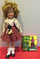 """Vintage Shirley Temple Ideal Doll 12"""" Original Clothing w/Tags Movie Included"""