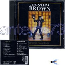 "JAMES BROWN ""ORIGINAL RECORDINGS"" CD ITALY ONLY - LIVE"