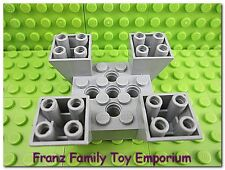 LEGO Inverted Quad Slope Light Gray 6x6x2 Star Wars 7190 7163 7151 Brick Part