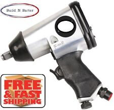"""NEW 1/2"""" Drive Pneumatic Impact Wrench 230 ft/lb 7000 RPM 1/4 Air Inlet Aluminum"""
