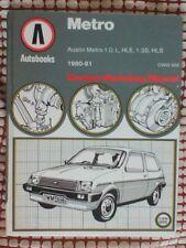 Austin 1980 Car Service & Repair Manuals