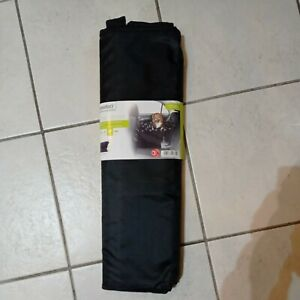 Zoofari Pet Car seat Cover 124x122cm black waterproof and tearproof