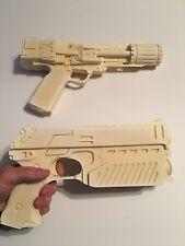 2 Movie prop Judge dredd blaster and Battlestar Galactica BSG  colonial blaster