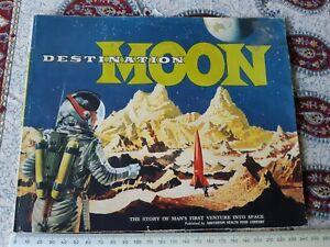 Sanitarium, destination moon booklet with 18 cards, 1969?
