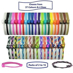 Paracord Puppy ID Collars;Puppy or Kitten Whelping Bands; Choose Colours & Sizes